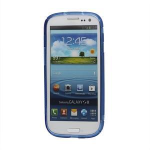S-line gélový obal pre Samsung Galaxy S3 - modrý - 2