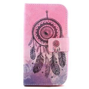 Knížkové pouzdro na mobil Samsung Galaxy S3 - lapač snů - 2