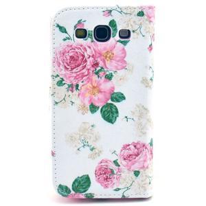 Pictu puzdro pre mobil Samsung Galaxy S3 - kvetinová koláž - 2