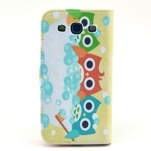 Pictu puzdro pre mobil Samsung Galaxy S3 - sovičky - 2