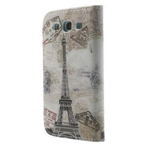 Knížečkové pouzdro na Samsung Galaxy S3 - Eiffelova věž - 2