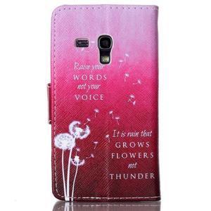 Emotive puzdro pre mobil Samsung Galaxy S3 mini - púpavy - 2
