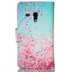 Emotive puzdro pre mobil Samsung Galaxy S3 mini - kvitnúca slivka - 2