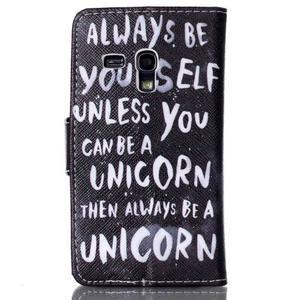 Emotive pouzdro na mobil Samsung Galaxy S3 mini - unicorn - 2