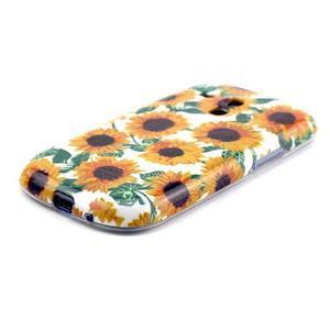 Gélový obal pre mobil Samsung Galaxy S3 mini - slunečnice - 2