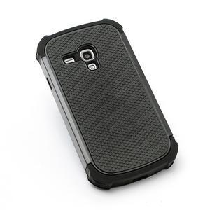 Outdoor odolný obal pre mobil Samsung Galaxy S3 mini - čierný - 2