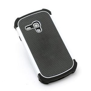 Outdoor odolný obal pre mobil Samsung Galaxy S3 mini - biely - 2