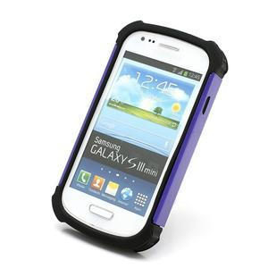 Outdoor odolný obal na mobil Samsung Galaxy S3 mini - fialový - 2