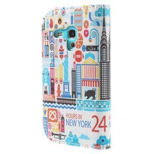 Knížkové puzdro pre mobil Samsung Galaxy S3 mini - New York - 2