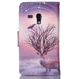 Emotive puzdro pre mobil Samsung Galaxy S3 mini - mystický jelen - 2