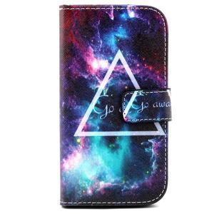 Standy peňaženkové puzdro pre Samsung Galaxy S4 - triangl - 2