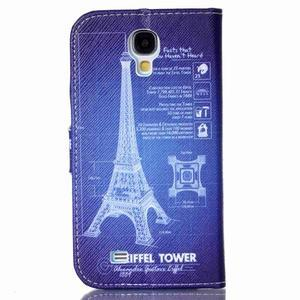 Emotive knížkové puzdro pre Samsung Galaxy S4 - Eiffelova veža - 2