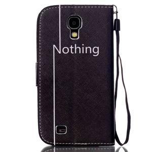 Knížkové koženkové pouzdro na Samsung Galaxy S4 - nothing - 2