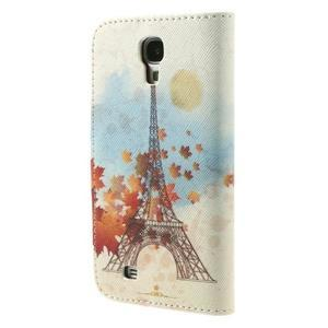 Elegant peňaženkové puzdro pre Samsung Galaxy S4 - Eiffelova veža - 2