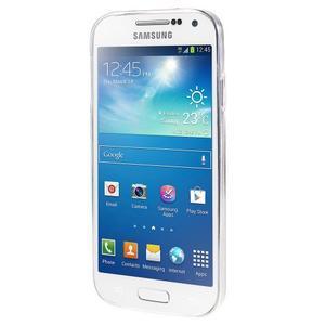Ultratenký slim gélový obal pre Samsung Galaxy S4 - geo tvary - 2