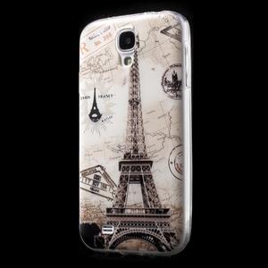 Slim gélový obal pre mobil Samsung Galaxy S4 - Eiffelova veža - 2