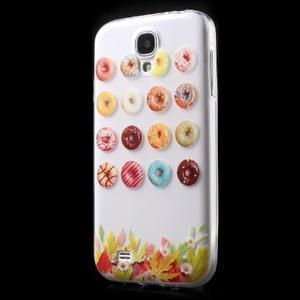 Slim gélový obal pre mobil Samsung Galaxy S4 - donuts - 2