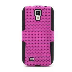 Odolný obal pre mobil Samsung Galaxy S4 - rose - 2