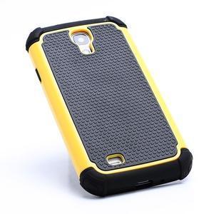Outdoor odolný silikonový obal na Samsung Galaxy S4 - žlutý - 2