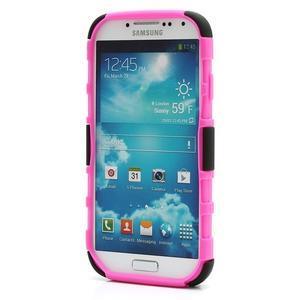 Odolný ochranný silikonový kryt na Samsung Galaxy S4 - rose - 2