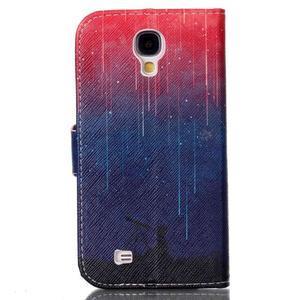 Emotive peňaženkové puzdro pre Samsung Galaxy S4 mini - meteory - 2