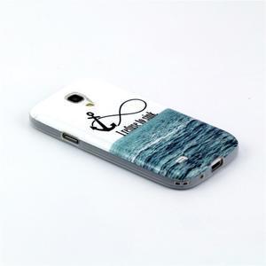 Stylish gélový obal pre mobil Samsung Galaxy S4 mini - kotva - 2