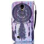 Diary peňaženkové puzdro pre mobil Samsung Galaxy S4 mini - dream - 2/6