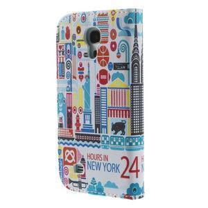 Style peněženkové pouzdro na Samsung Galaxy S4 mini - New York - 2