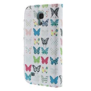 Style peněženkové pouzdro na Samsung Galaxy S4 mini - motýlci - 2