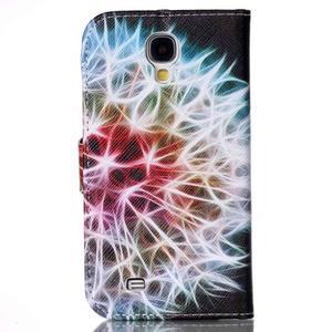Emotive peněženkové pouzdro na Samsung Galaxy S4 mini - barevená pampeliška - 2