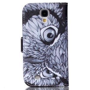 Emotive peňaženkové puzdro pre Samsung Galaxy S4 mini - sova - 2