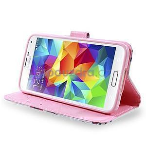 Ochranné puzdro pre mobil Samsung Galaxy S5 - kvety - 2