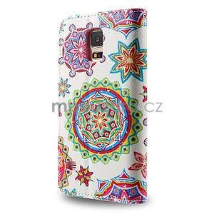 Ochranné puzdro pre mobil Samsung Galaxy S5 - mandala - 2