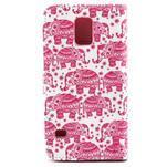 Puzdro pre mobil Samsung Galaxy S5 - slony - 2/6