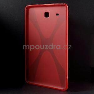 X-line gélové puzdro pre tablet Samsung Galaxy Tab E 9.6 - červené - 2