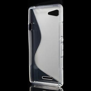 S-line gelový obal na Sony Xperia E3 - transparentní - 2