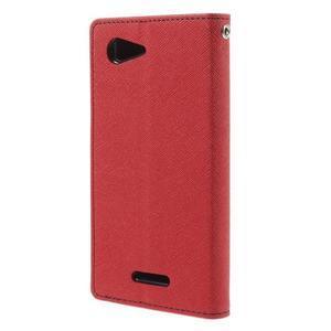 Richmercury puzdro pre mobil Sony Xperia E3 - červené - 2