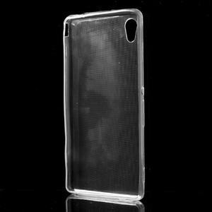 Ultratenký slim gelový obal na mobil Sony Xperia M4 Aqua - transparentní - 2