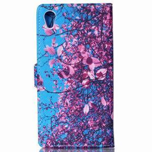 Emotive pouzdro na mobil Sony Xperia M4 Aqua - kvetoucí strom - 2