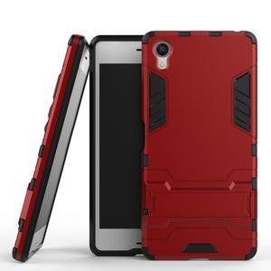 Odolný kryt na mobil Sony Xperia X - červený - 2