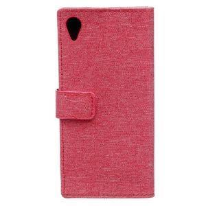 Texture pouzdro na mobil Sony Xperia X - červené - 2
