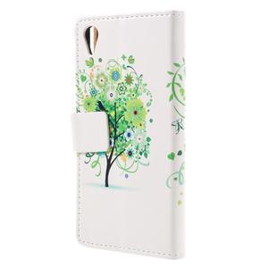Emotive puzdro pre mobil Sony Xperia X Performance - zelený strom - 2