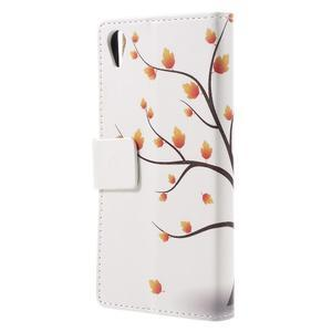 Emotive puzdro pre mobil Sony Xperia X Performance - jesenné strom - 2