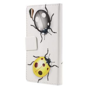 Emotive puzdro pre mobil Sony Xperia X Performance - chrobáčiky - 2