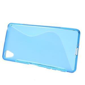 S-line gelový obal na mobil Sony Xperia X Performance - modrý - 2