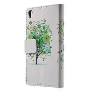 Emotive pouzdro na mobil Sony Xperia XA - zelený strom - 2