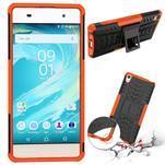 Outdoor odolný obal pre mobil Sony Xperia XA - oranžový - 2/2