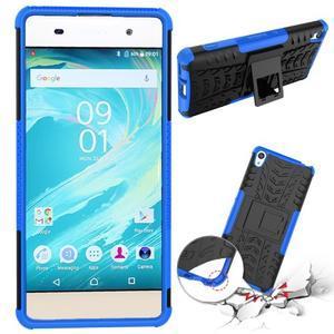Outdoor odolný obal na mobil Sony Xperia XA - modrý - 2