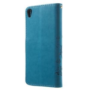 Butterfly puzdro pre mobil Sony Xperia XA - modré - 2