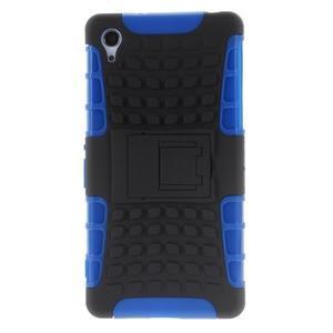 Outdoor odolný kryt pre mobil Sony Xperia Z2 - modrý - 2